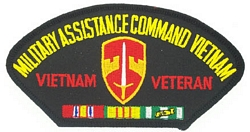 MACV Vietnam Veteran Patches